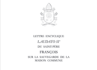 """Encylique """"Laudato Si"""" du Pape François"""
